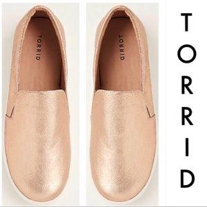 542463796ba torrid Shoes - Rose Gold wide width sneakers